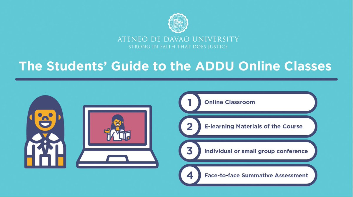 READ | Students' Guide to the @ADDU_Official Online Classes #ADDUOnline #AdaptToCOVID