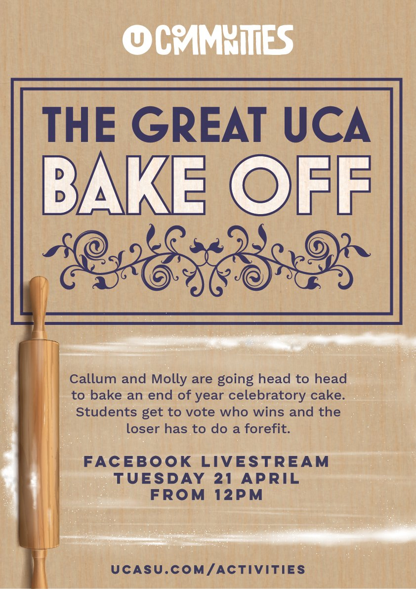 test Twitter Media - Join Callum and Molly this lunchtime to watch them attempt some impressive cake baking... https://t.co/bxa6A623uz