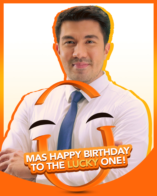Mas happy na, birthday pa! Happy birthday, @luckymanzano. May you be surrounded by things that make you smile today. https://t.co/xjwfho8ici