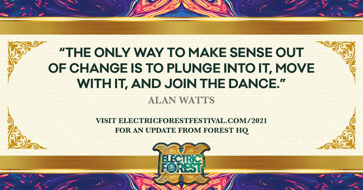 Electric Forest 2020 dates