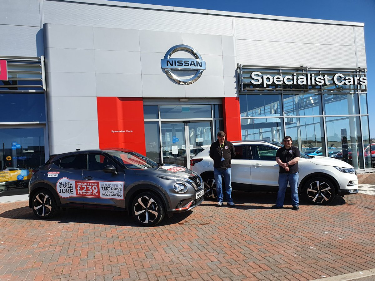 Specialist Cars Nissan were delighted to hand over the keys of two Nissan cars to North East Rider Volunteers (NERV). Brian from NERV accepted the keys to the Nissan Juke and Nissan Qashqai models, which will go a long way to support ASRs & Nurses of ARI to get to and from work. https://t.co/tJxmHPgbvO