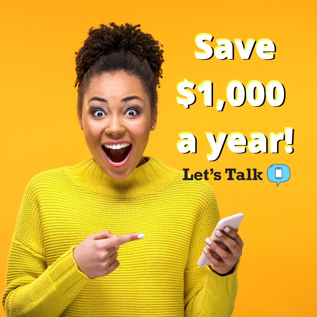 By using more WiFi and downgrading your cell phone plan you can save some serious cash!! https://t.co/gq6b5jHotR https://t.co/5pMrun8HX9