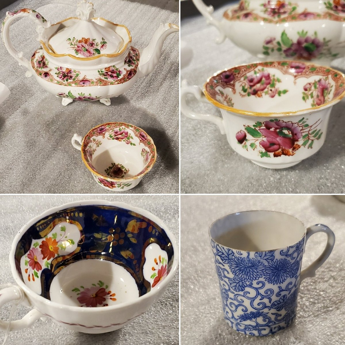 It's #NationalTeaDay! Enjoy these tea cups from our collection while you have a cuppa!  #wethersfield #oldwethersfield #itsteatime #cuppa #teapic.twitter.com/YfqvS52k6l