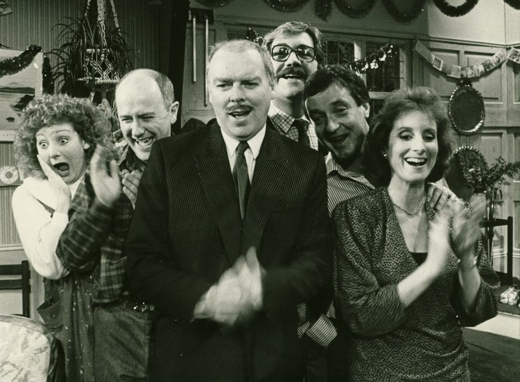 Todays #APlayADay is Absurd Person Singular from 1989. This three-act tragicomedy by Alan Ayckbourn follows the high and lows of three couples all celebrating three successive Christmas Eves together. Originally written in 1972, it was produced by the Gate in 1975 and 1989.
