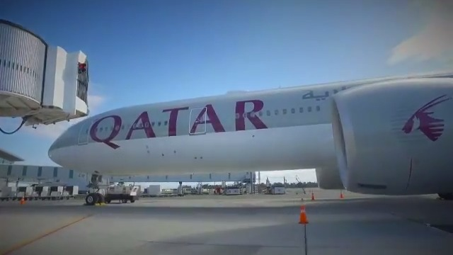 On 16 April, #QatarAirways took off from Christchurch Airport, New Zealand, to help over 400 French nationals get home safely. #TakingYouHome