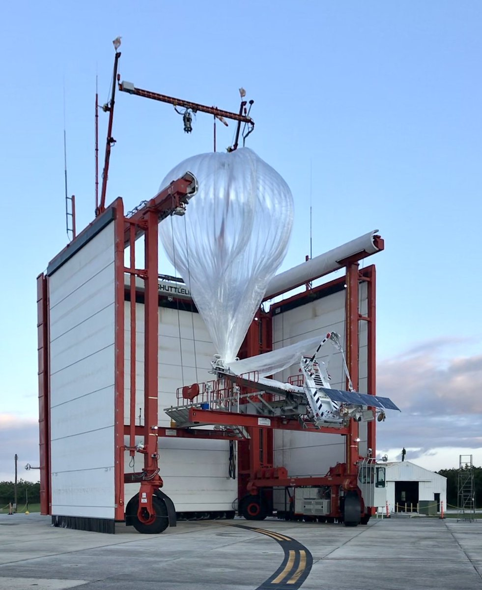 A larger fleet of Loon balloons is heading to Kenya after successful launches from Loon's launch site in Puerto Rico, this week. Read on:https://t.co/q3AyNAKM2H https://t.co/BVcmd6BXwF