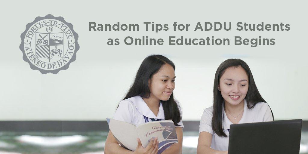 Random Tips for ADDU Students as Online Education Begins taborasj.wordpress.com/2020/04/21/ran…