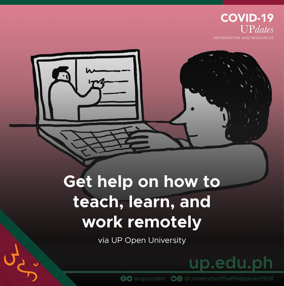 University Of The Philippines On Twitter The New Normal Faced