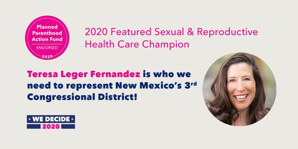 We've seen politicians use a crisis to attack access to abortion — and people will suffer for their political agenda. We need a champion representing #NM03 who will defend people's health and rights. That person is @TeresaForNM — @PPact is proud to endorse. https://t.co/i2whrB41lx