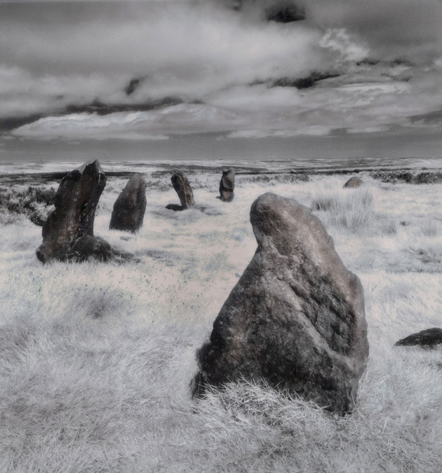Peter is making great progress sorting out all his archived ancient sites photos. Here is another infrared image of the 12 Apostles, Ilkley.... judging by the length of the grass must have been springtime. #ancientsites #twelveapostles #infrared