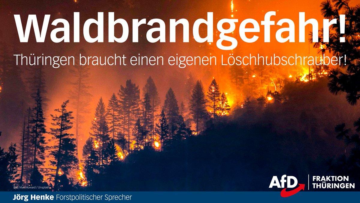 #Waldbrand
