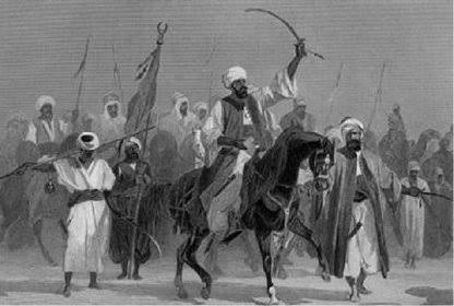 """THESTORY_TELLER on Twitter: """"While at Gudu, Usman dan Fodio declared a holy  war (jihad) against King Yunfa of Gobir (Rimfa's son and successor) and his  people as he felt their way of"""