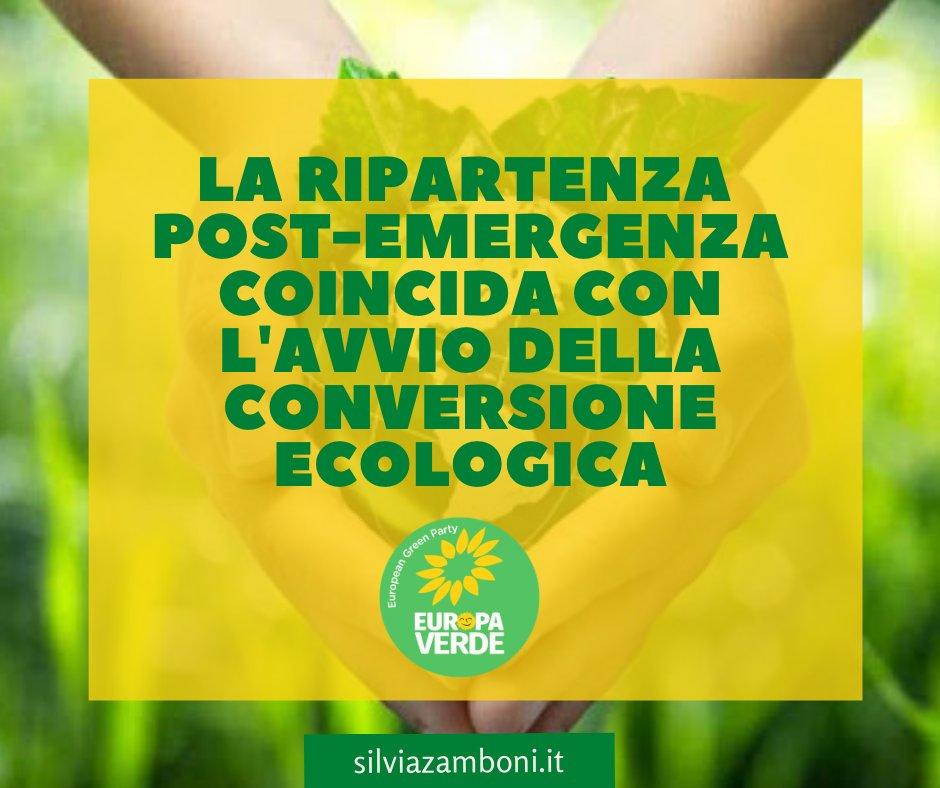 Un nuovo articolo (La ripartenza post-emergenza covid19 deve coincidere con lavvio della conversione ecologica) è su Silvia Zamboni - silviazamboni.it/la-ripartenza-…