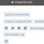 Image for the Tweet beginning: Thank you to @coingecko for
