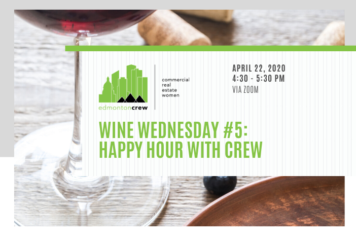 Good news: It's not too late to register for tomorrow's virtual #winewednesday! Tomorrow's varietal is Zinfandel, with notes and information from our own Past President, Sharon Ohayon.  #edmontoncrew #crewevents #crewovercovidpic.twitter.com/Urc9pUn4Wl