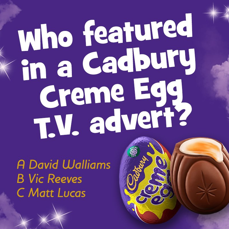 It's #QUIZ QUESTION Tuesday! Let us know your answer in the comments 🤔🍫 #cadbury #chocolate https://t.co/rGch7Nhs1W