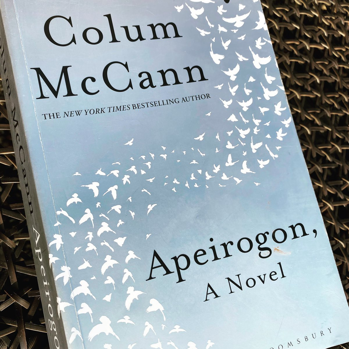 What a marvel of a book! Wise, complex and timely. A magnificent achievement! #ColmMcCann