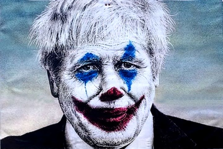 """John O'Connell on Twitter: """"Apparently Boris Johnson' is ''still leading''.  Who put an incompetent clown ''in charge'' of our nation at a time of  crisis ? Oh, yes. #Tories voters.… https://t.co/ok5CwC99Ah"""""""
