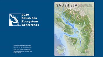 New map of the #SalishSea — released for the first time at #SSEC2020 🌊🌊🌊