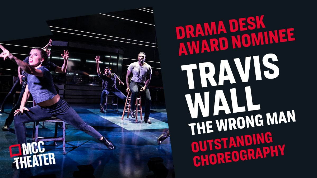 This nomination has us dancing in the aisles! Well done, @traviswall! @DramaDeskAwards https://t.co/w6oSnZqlDe