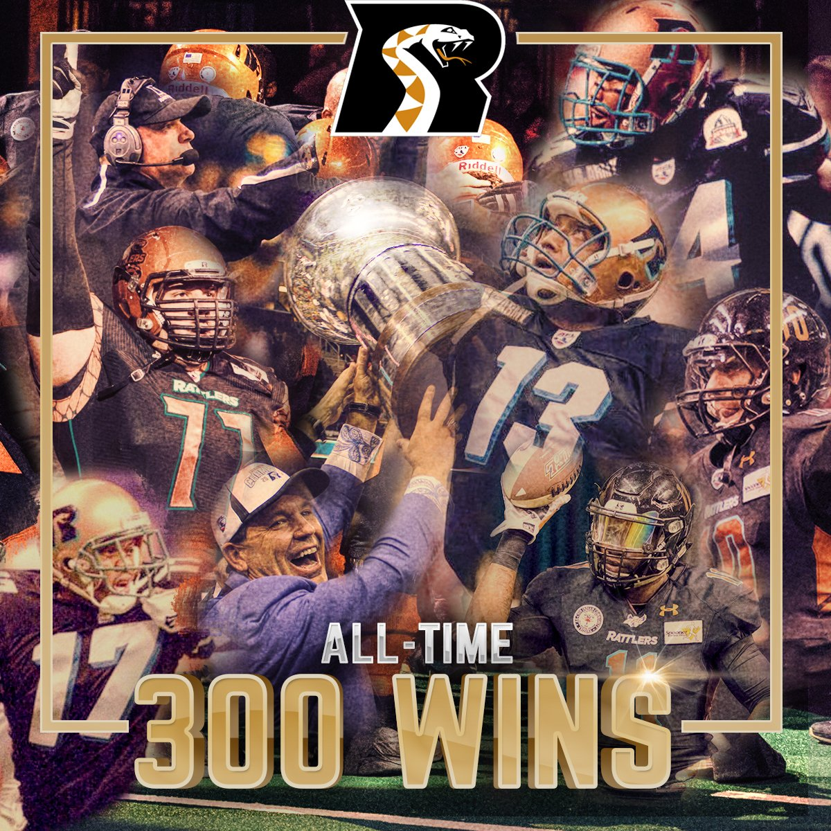 #OnThisDay in 2018: Rattlers won their 300th game in franchise history, by defeating the Cedar Rapids Titans; 84-83. https://t.co/xgP1ugqaJN