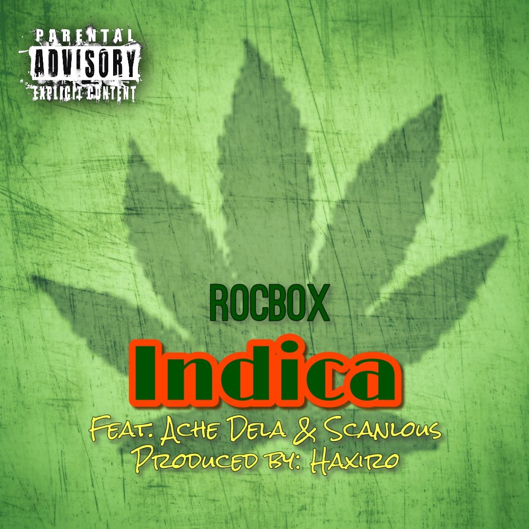 """#AvailableNow from WGG Ent: """"Indica"""" new single by ROCBOX feat. Ache Dela & Scanlous: https://t.co/7IchTGncme #Happy420 #WestCoast #California #Mexico #WizeGuyzGlobal #Global #HipHop #ROCBOX #RHYMEROCCAENT https://t.co/ewAPuDV9oE"""
