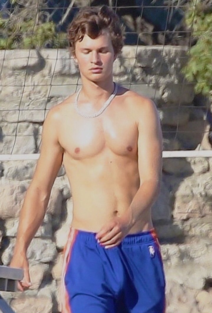 Nude ansel elgort What Ansel
