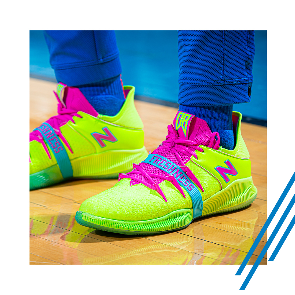 𝗙 𝗥 𝗘 𝗦 𝗛 𝗡 𝗘 𝗦 𝗦  👟// New Balance OMN1S Low  'Freshness' worn by @BazleyDarius https://t.co/dU10Iy374t