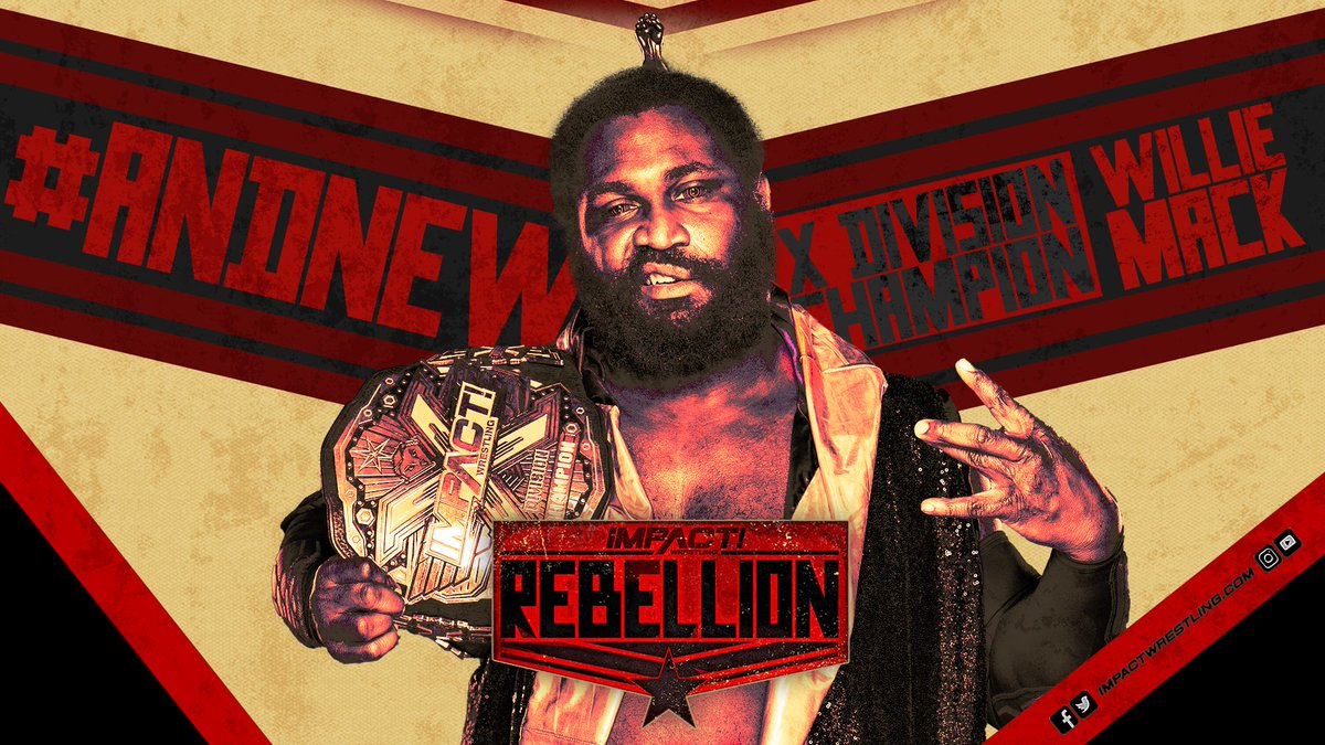 New Champion Crowned On Night One Of Impact's 'Rebellion'