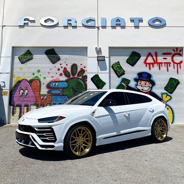 Lamborghini Urus on Forgiato Wheels ⚡️