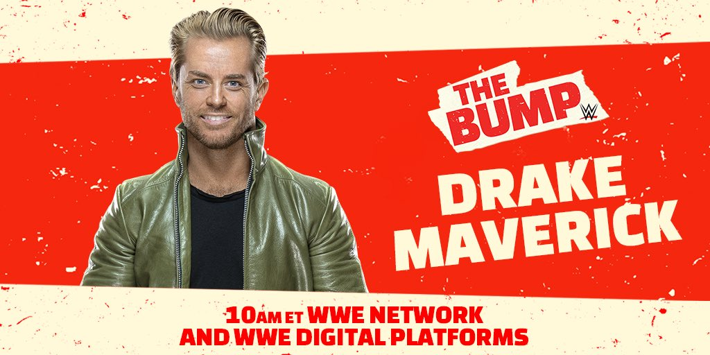 Drake Maverick To Be On WWE's The Bump