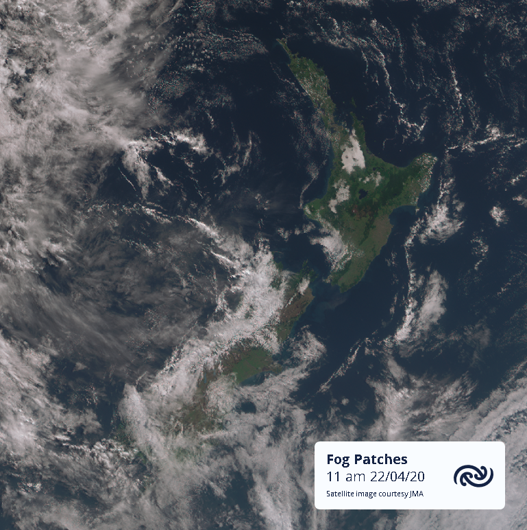 A few fog patches still hanging on in some parts of Aotearoa. Hamilton is now showing signs of starting to clear. bit.ly/metservicenz  ^AJ https://t.co/gRaZJR6SQC