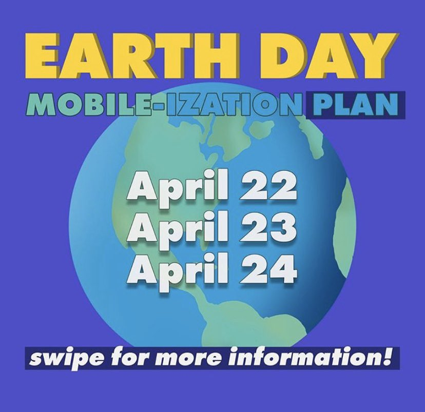 Don't forget to register for our Earth day mobile-izations that start tomorrow! More info at Waycs.org/earthday