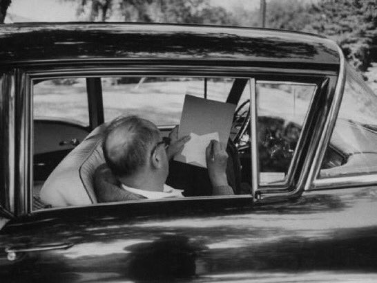 """🔳 VLADIMIR NABOKOV Born on this day, in 1899 """"Caress the detail, the divine detail."""""""