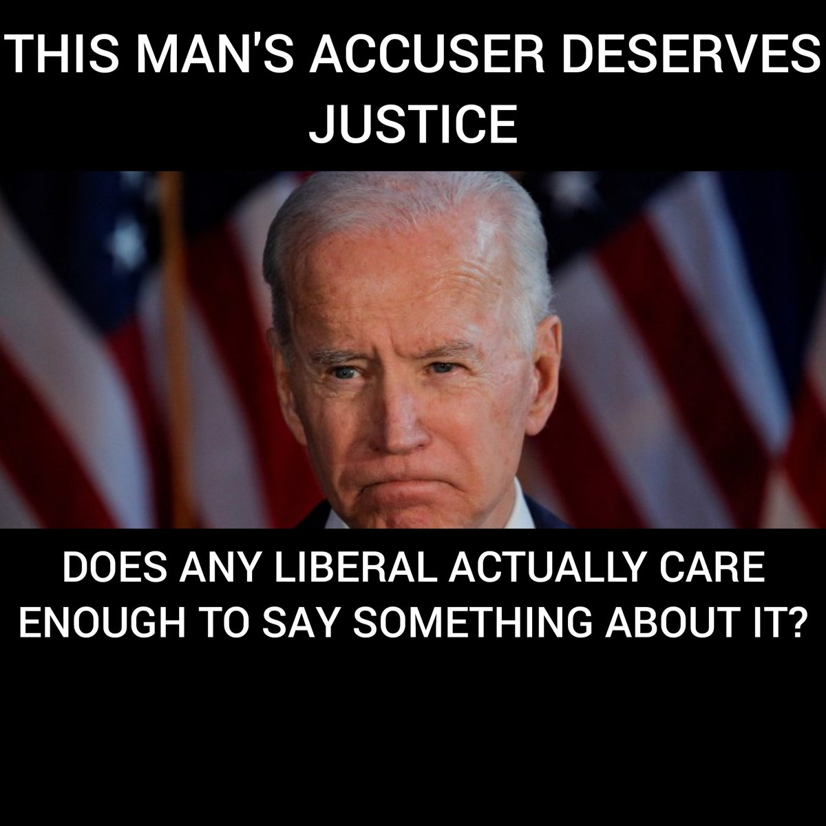 #RazorTrain 1891 Trump2020🇺🇸 🔴AddOn Patriot Train  😬 Nobody within the media will ask Joe Biden about the sexual assault allegation against him.   😡Retweet if you are fed up with the ridiculous double standard. 😷 Add your @ in comments 😷 Follow others 😷Follow @Razorsmack1 https://t.co/MduBXX2iIT