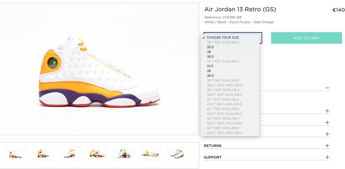 Solelinks Eu Canada On Twitter Ad Gs Air Jordan 13 Retro