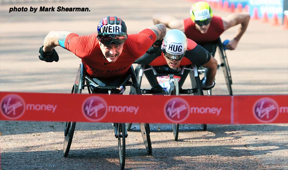 On this day in 2018, the 19 x World, OG. CG. & Eur. gold medallist David Weir CBE won his 8th. London Marathon @AthleticsWeekly @WeirArcher @davidweir2012 @DraftWheelchair @EnglandAthletic https://t.co/vuAjHcBN75