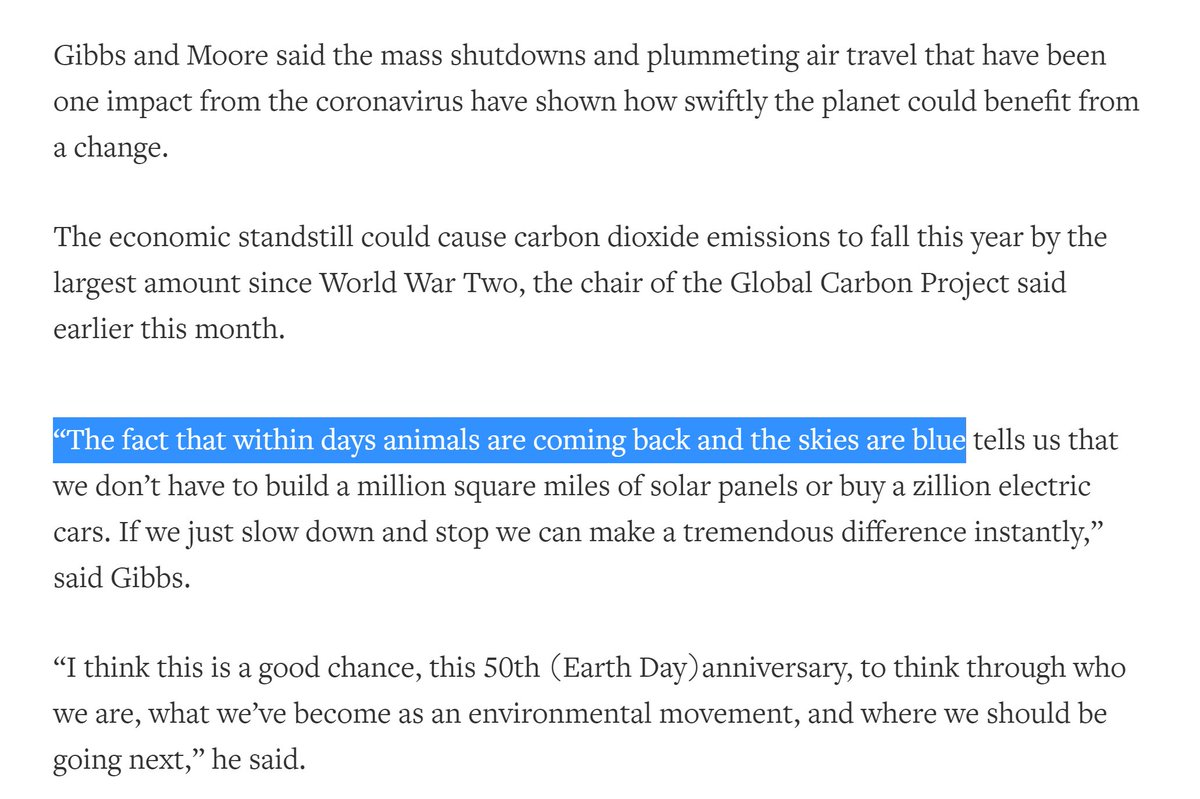 I CALLED IT EVERYONEI FREAKING CALLED ITI SO BLOODY CALLED IT https://www.reuters.com/article/us-earth-day-documentary/michael-moores-planet-of-the-humans-asks-what-if-green-energy-cannot-save-the-planet-idUSKCN2231U8