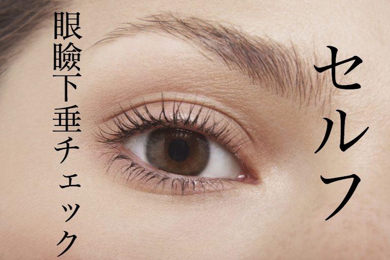 眼瞼下垂 手術 芸能人