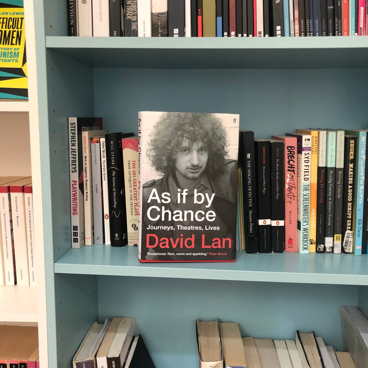 """Enjoyed this memoir by David Lan, artistic director of the Young Vic 2000-18. Its insightful on difficult directors & theatre being open to the world. He quotes his friend Amir Nizar: """"It's paying endless, very close attention. That's what love is."""" Good motto for life and art."""