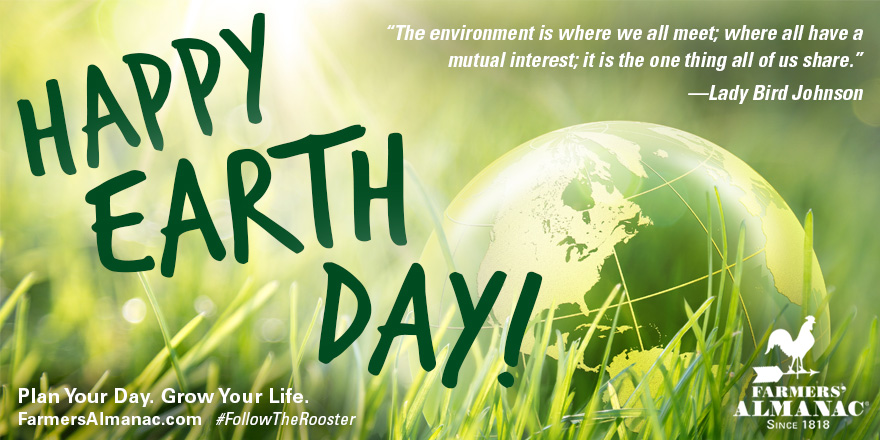 The Farmers Almanac On Twitter Happy 50th Earthday Be Sure To Check Out Our Earth Day Recycling Quiz Https T Co Uoa5y78iou Earthday2020 Earthdayeveryday Zbip54xase