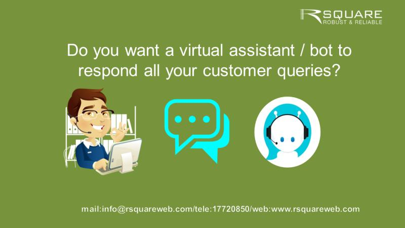 Intelligent virtual assistant/Digital employee available 24x7 for non-stop customer service.. Please call us for E- Demo-17720850/info@rsquareweb.com  #rsquare  #artificialintelligence #innovation #bahrainfintechbay #bahrain #AI #chatbot #banks #insurance #staysafe #stayhome https://t.co/1Ab4Q3PDly
