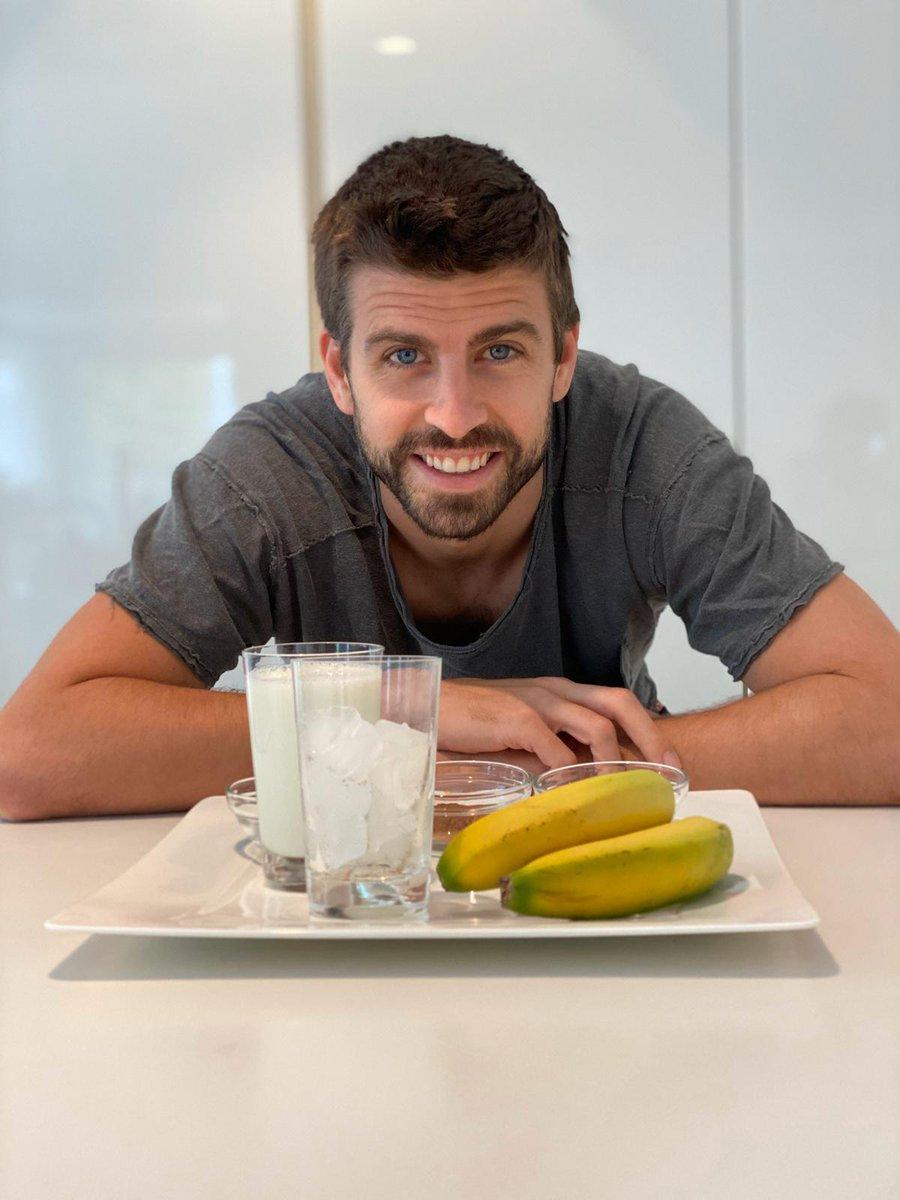 @FCBarcelona @BarcaInnoHub @Beko My favorite smoothie! 😋 #CulersAtHome #EatLikeAPro