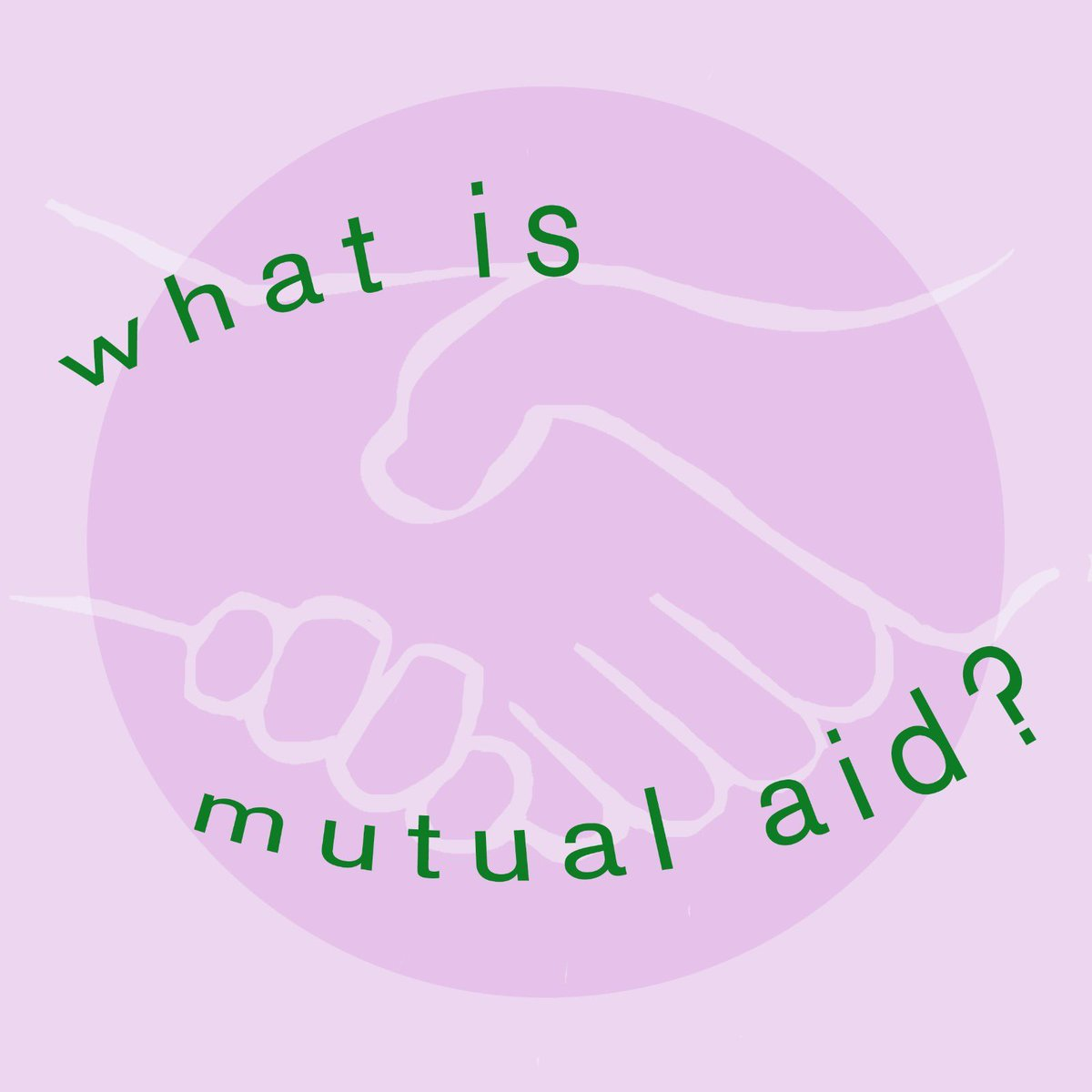 Build support networks with your neighbours, organise a rent strike, read up on mutual aid and educate your friends/family/neighbours/mutual aid group We've created these infographics to help 👇 1. What is mutual aid? #MutualAid #COVID19