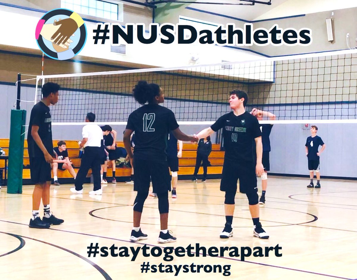 It's more than sport, it's trusting our teammates, it's family. Stay strong. Stay together, apart. #confidence #gameday     @NatomasUSD @natomasbuzz @LGA_Athletics @Lgaleadership @LeroyGreeneFitz https://t.co/zB835Thc0s