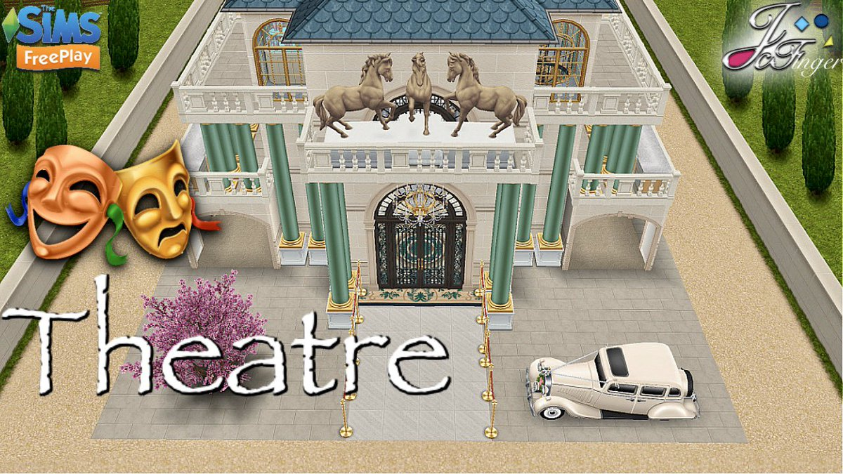 #TheSimsFreePlay #JoysCreativeFinger 👑🐴🎭  ROYAL STALLION THEATRE   Includes Live Build. ⚒ By Joy. youtu.be/GXlqVxX9ouc