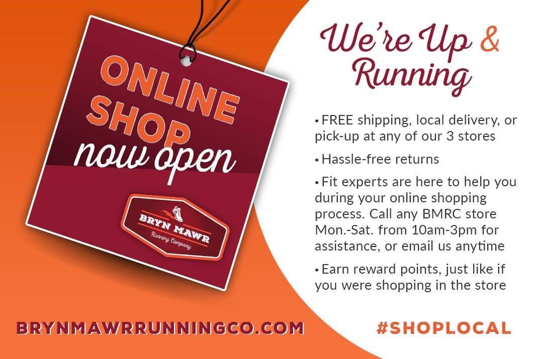 Shop online at Bryn Mawr Running