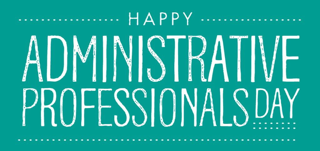 test Twitter Media - Today is #AdministrativeProfessionalsDay! These individuals play a crucial role in our organization. Even during these uncertain times, they continue to go above the call of duty to ensure our operations run smoothly. We are happy to celebrate them today and every day. #ThankYou https://t.co/mNiRyhXNIS