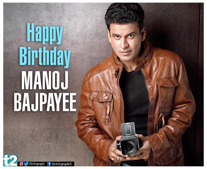 T2 wishes the versatile Manoj Bajpayee a very happy birthday!