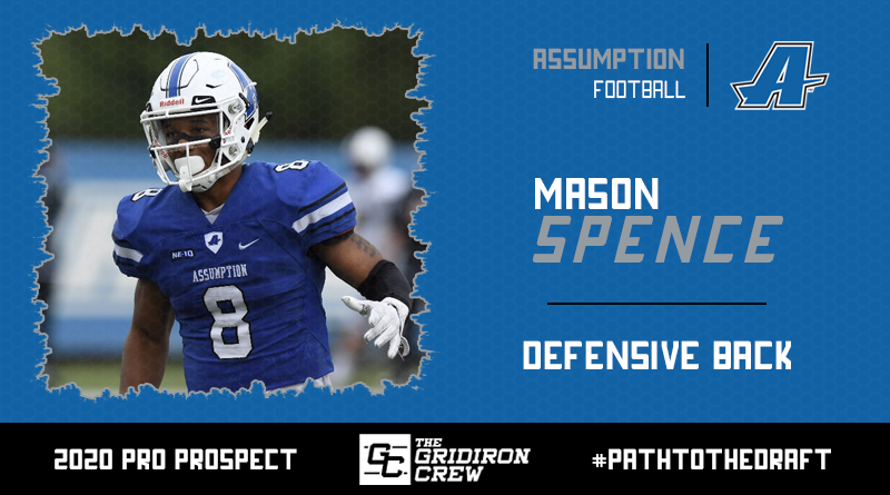 Scouts, Coaches, and GMs, here are all the reasons why you should focus your attention on 2020 Pro Prospect, Mason Spence (@MaseSpence), a DB from @ACGreyhoundsFB!  #2020ProProspect #PathToTheDraft #NFLDraft #CFLDraft  👀 Read our Interview: https://t.co/TPzLlCIzfc https://t.co/HDlmVQwARS